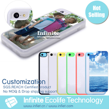 2D Sublimation Blank Phone Cover for iPhone 5 Case Custom Design Bulk Case for iPhone 5 5s