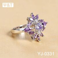 925 sterling silver 14k gold diamond collections heart cz pink fire rings round opal ring