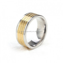 Fashion jewelry latest design 18 karat gold plated ring for men