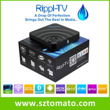 China Top Ten Selling Products Rippl-TV Best Android Smart IPTV TV Box XBMC Full HD 1080P Media Player Set Top Box