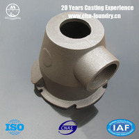 Customized Spherical Graphite Cast Iron 1460-040 Burner Body Clay Sand Casting