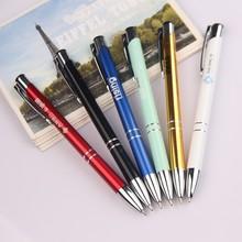 Aluminium Barrel Customized Logo Gift Metal Pen, ball pen