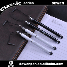 For mobile metal mini ball pen with stylus pen,novelty pen