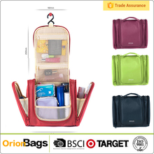 Portable Travel Toiletry Bag Hanging Cosmetic Organizer Bag