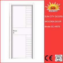 Promotional high quality wooden toilet door SC-W079