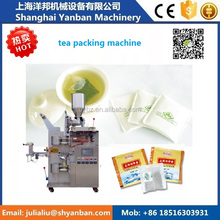 Factory updated YB-180C Automatic 10-15g Filter Tea Bag Packing Machine