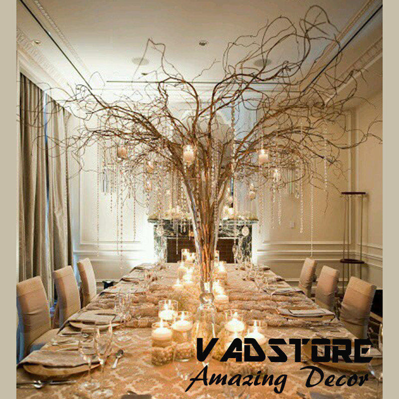 5ft Naturial Brown Willow Branches Wedding Table Centerpiece Hotel