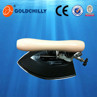 fabric use industrial steam press iron