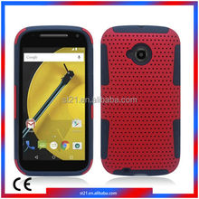 Strong Phone Accessories Smartphone Cover TPU PC Protector Cover Cell Phone Cases For Motorola Moto E2 LTE XT1527