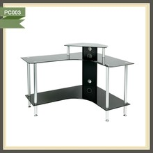 low price lightweight height adjust internet cafe computer table office desk layouts