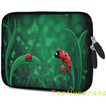 Custom size neoprene 7 inchsleeve case cover pouch for tablet pc computer