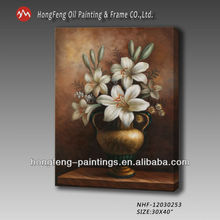 beautiful famous classical flower oil paintings on canvas