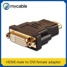 HDMI male to DVI female adapter bluetooth video adapter