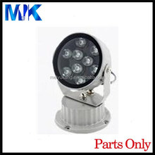 alibaba online shopping ip66 metal color shell stainless steel light cover, aquarium flood light housing