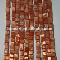 Orange cateye stone