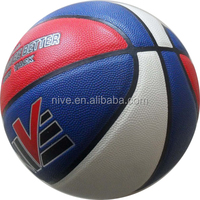 rubber leather/PU basketball