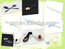 2013 hot sale popular plastic cutlery (fork)