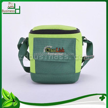embroidery canvas beer cooler bag