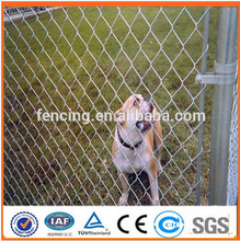 2015 hot sale cheap chain link dog kennels/chain link fence (Anping factory)