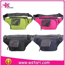 2015 new production of high-quality nonwoven backing base waist bag sports bag