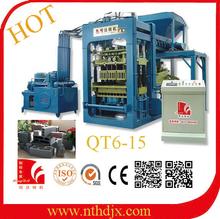 QT6-15 hollow block equipment/building block construction equipment