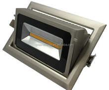 china top ten selling products square downlight 40w LED Ra90