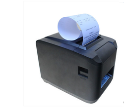 Wireless wifi portable thermal printer 80mm 160mm / s 576 dots / line or 512 dots / line USB/parallel port ticket printer wit