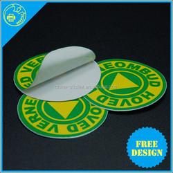 China Alibaba Supplier Good Quality Self Adhesive Sticker