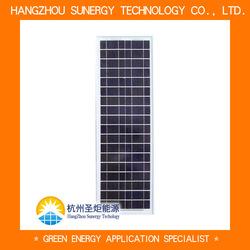 low power monocrystalline solar panel 20w