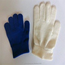 2015 wholesale factory direct sale Knitted pure color gloves