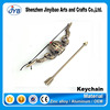 popular game theme metal keyring arrow dota 2 mini weapon keychain