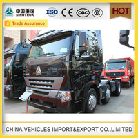 direct selling new Sinotruk howo a7 3 axle 10 Wheels Tractor Head Lorry