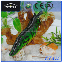 e-tech all ETA25 8inches 65g MIX colour fishing lure ,high quality 8 sections jointed pike lure