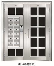 Alibaba new model stainless steel door design stainless steel entry doors arch top modern exterior stainless steel doors