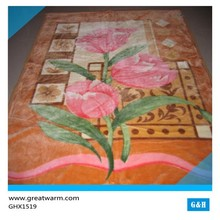 Handmade Children Flower Kids Bed Knitted blanket