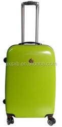 ABS+PC urban trolley compass luggage trolley bag colourful travel trolley luggage bag long luggage trolley bags