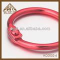 de color rojo de hierro magnético de material de papel sostenedor del clip para la venta