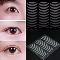 1 Sheet 24 Pairs Invisible Double Eyelid Sticker Tape Technical Trial Eye Strips Women Makeup Tools Hot