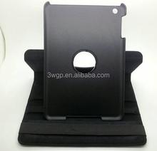 China Factory wholesale Colorful 360 degress rotating PU leather case for ipad mini