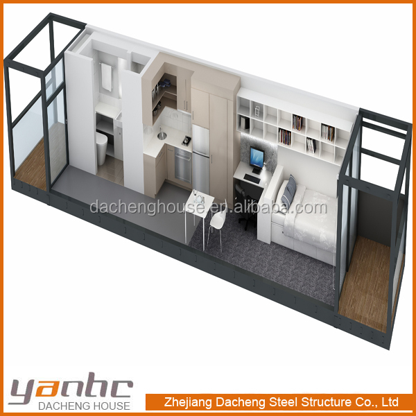 Prefabricated Flat Pack Container House Floor Plans Buy