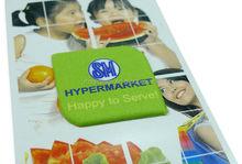 hot seller customer design adhesive microfiber screen cleaner