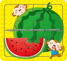 venta caliente de la historia del diseño del rompecabezas de rompecabezas del niño de juguete para niños