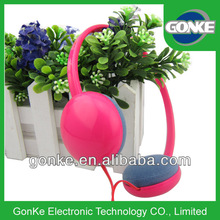 Pink Light and Portable Headset with Factory Price pink computer headset
