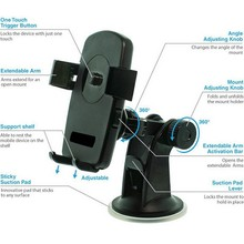 Cell Phone Car Mount Universal Smartphone Windshield Dashboard Holster Desk Fits iPhone