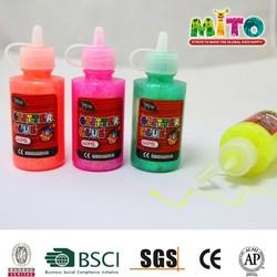 MTJFJ-6012BX2 60ml high 12pcs setglitter glue paper glue