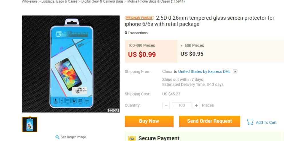 도매 체크 아웃 높은 명확한 4.7/ 5.5 인치 화면 보호기 아이폰 6. 아이폰 6 플러스