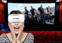 Best Gift 3D Glasses VR Glasses Virtual Reality Plastic Google Cardboard