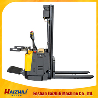 2015 cheap price Max lifting height 3.3m loading 1.5ton Battery Powered(DC/AC) electric stacker
