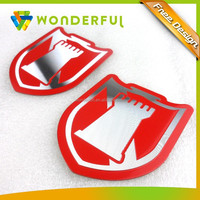 High Quality Full Color Printed Metal Logo Type Aluminum Name Plate