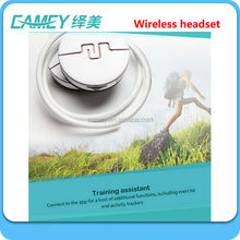 new stylish ear hook motorcycle helmet bluetooth headset intercom